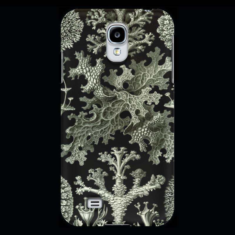 Чехол для Samsung Galaxy S4 Printio Лишайники (lichenes, ernst haeckel) чехол для samsung galaxy s7 edge силиконовый printio лишайники lichenes ernst haeckel