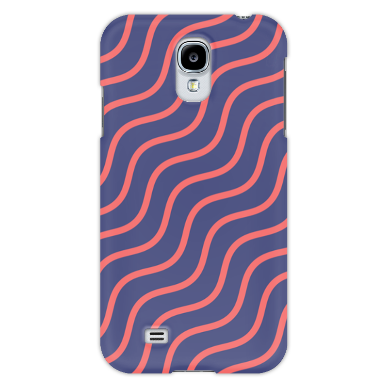 Чехол для Samsung Galaxy S4 Printio Волнистый