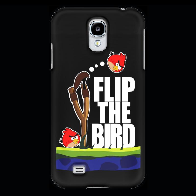 Чехол для Samsung Galaxy S4 Printio Flip the bird майка классическая printio flip the bird