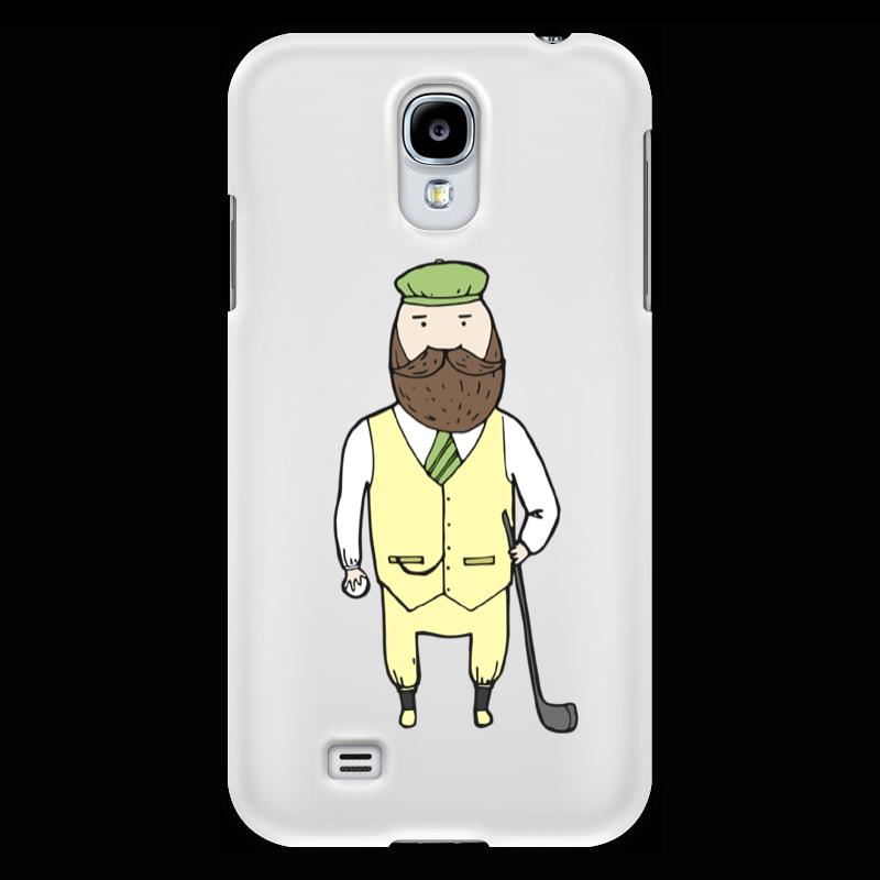 Чехол для Samsung Galaxy S4 Printio Джентльмен с клюшкой для гольфа чехол для samsung galaxy note printio джентльмен с клюшкой для гольфа