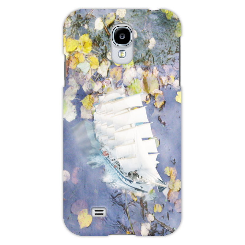 Чехол для Samsung Galaxy S4 Printio По осенним листьям prodykciia apple zanimaet pervoe mesto po aktivaciiam samsung na vtorom v chem podvoh