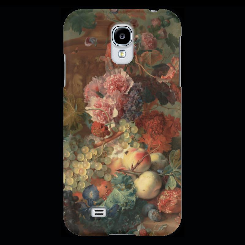 Чехол для Samsung Galaxy S4 Printio Цветы (ян ван хёйсум) ян ван хейсум