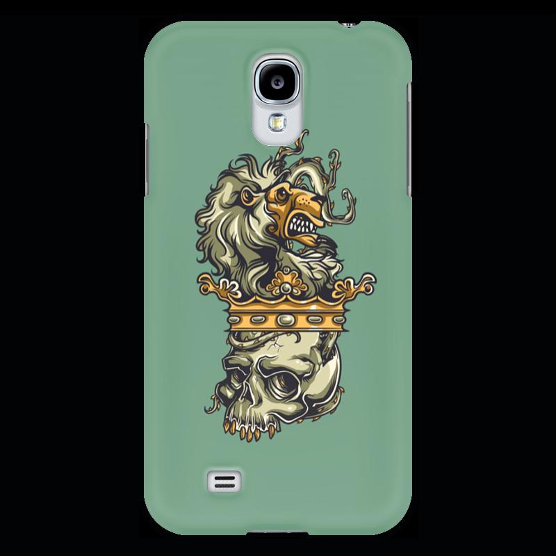 Чехол для Samsung Galaxy S4 Printio Череп и лев чехол для samsung galaxy s4 printio череп художник