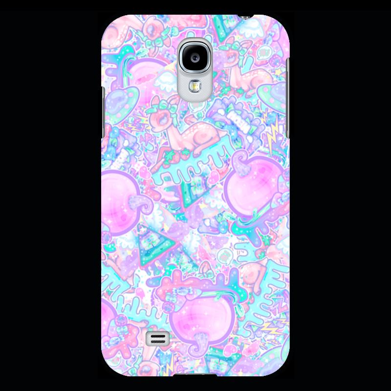 Чехол для Samsung Galaxy S4 Printio Привет от тумблера kakim bydet gibkii telefon ot samsung