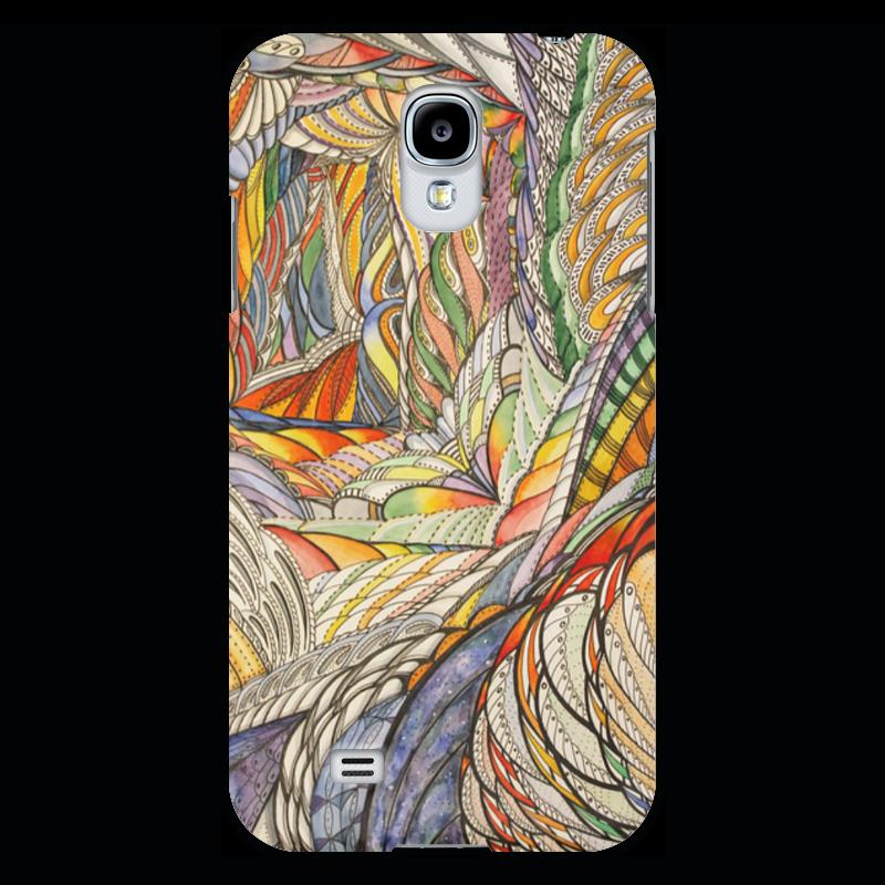 Чехол для Samsung Galaxy S4 Printio Тропик батарея для galaxy s4
