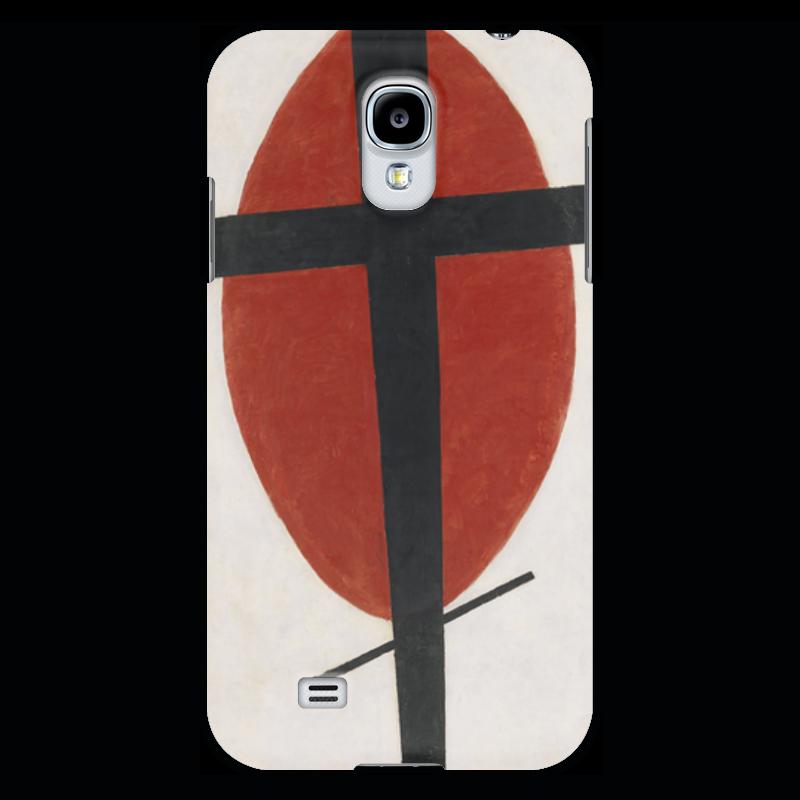 Чехол для Samsung Galaxy S4 Printio Супрематизм (черный крест на красном овале) ожерелье овале