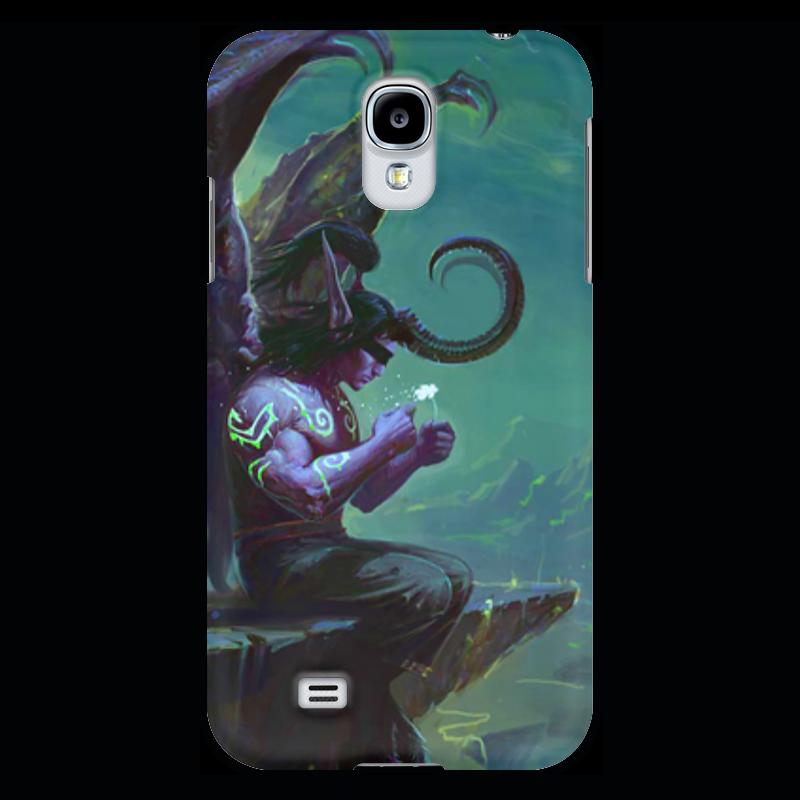 Чехол для Samsung Galaxy S4 Printio Warcraft collection: illidan прогулочные коляски gesslein s4 air
