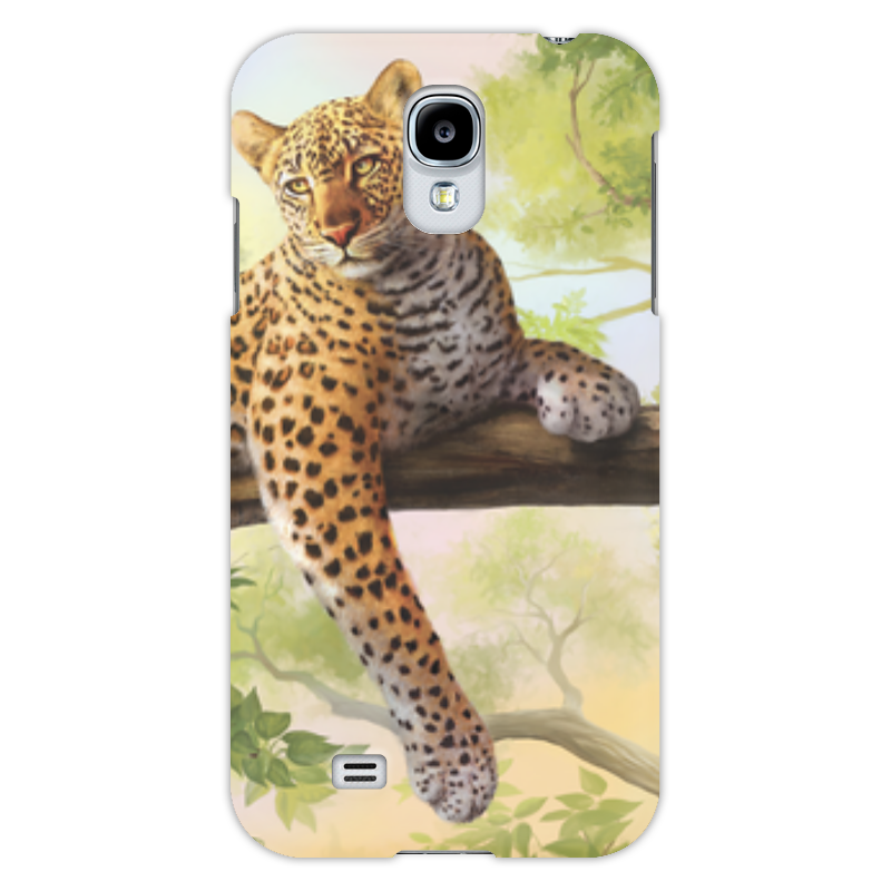Чехол для Samsung Galaxy S4 Printio Леопард прогулочные коляски gesslein s4 air