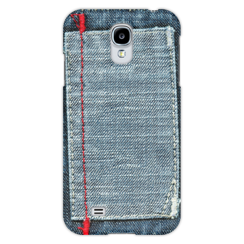 Чехол для Samsung Galaxy S4 Printio Джинса