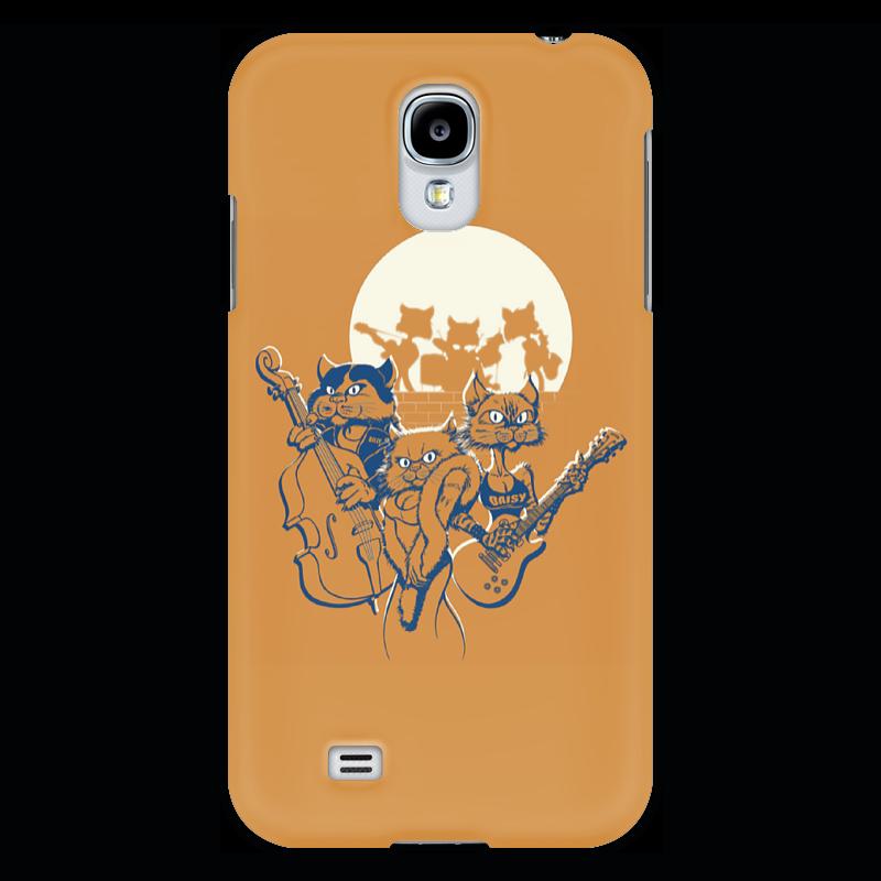 Чехол для Samsung Galaxy S4 Printio Кошачий концерт прогулочные коляски gesslein s4 air