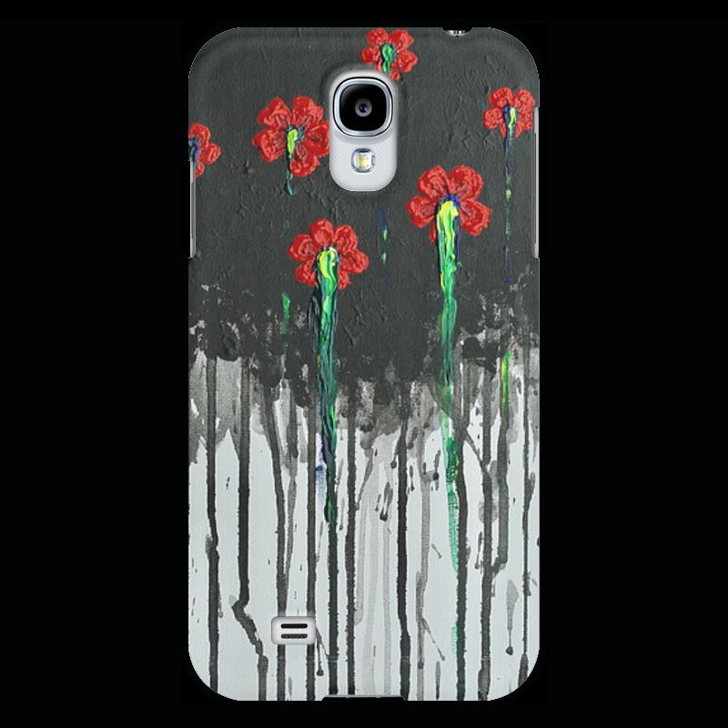 Чехол для Samsung Galaxy S4 Printio Красные маки чехол для samsung galaxy s4 printio a soldier from the arma 3