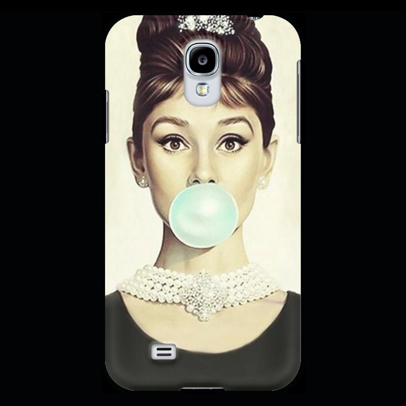 Чехол для Samsung Galaxy S4 Printio Одри хепбёрн чехол для samsung galaxy s4 printio фотоаппарат