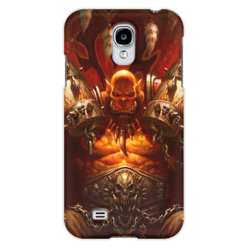 Чехол для Samsung Galaxy S4 Printio Warcraft collection: ork прогулочные коляски gesslein s4 air
