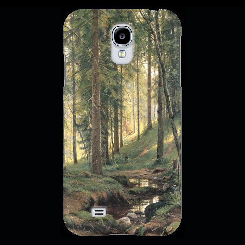 Чехол для Samsung Galaxy S4 Printio Ручей в лесу новый русский базар 1869 1898