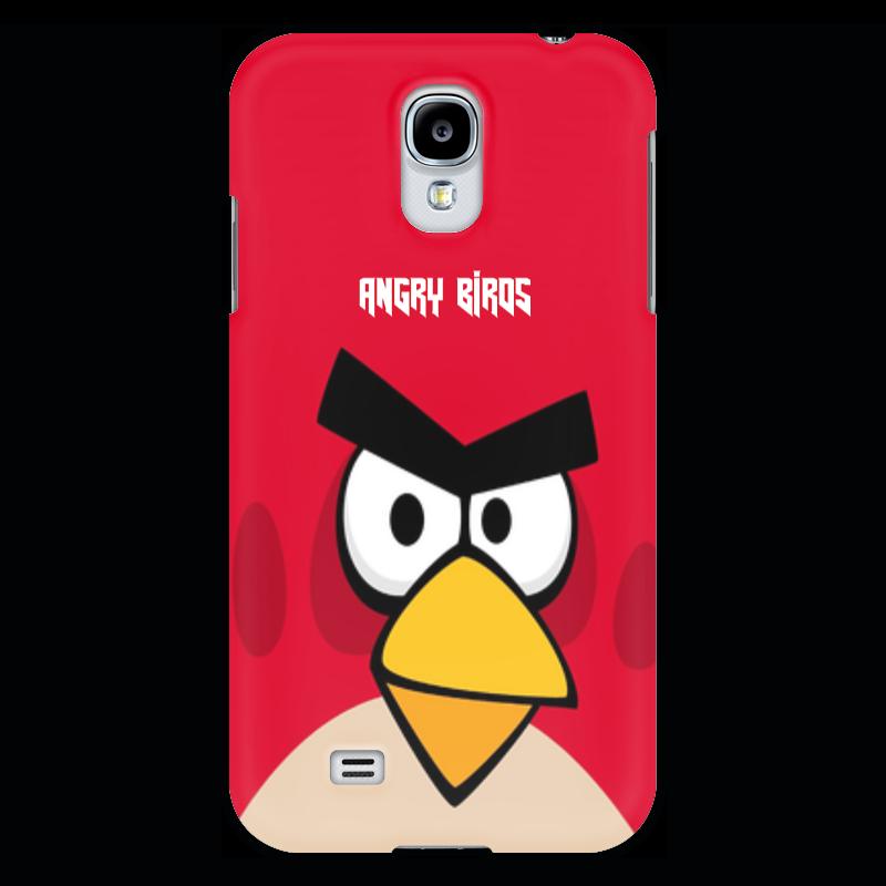 Чехол для Samsung Galaxy S4 Printio Angry birds (terence) чехол gear4 angry birds pig king для new ipad ipad2 ipab303g