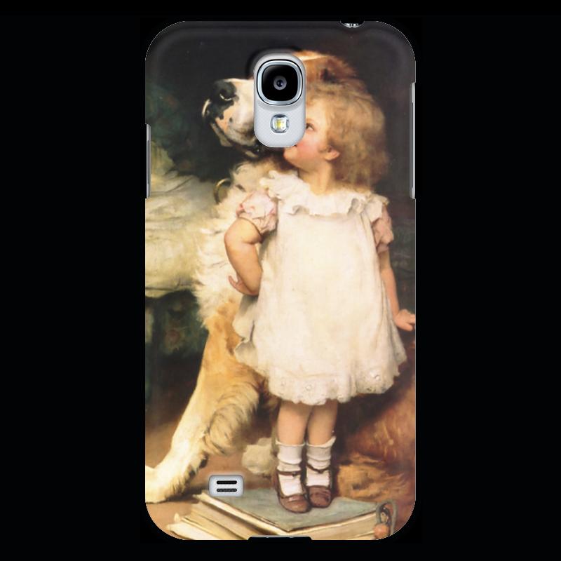 Чехол для Samsung Galaxy S4 Printio Картина артура элсли (1860-1952) картины magic home картина репродукция дворик