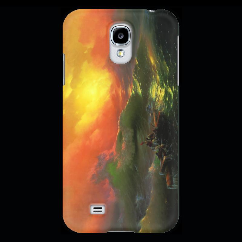 Чехол для Samsung Galaxy S4 Printio Девятый вал (картина айвазовского) чехол для iphone 7 объёмная печать printio девятый вал картина айвазовского