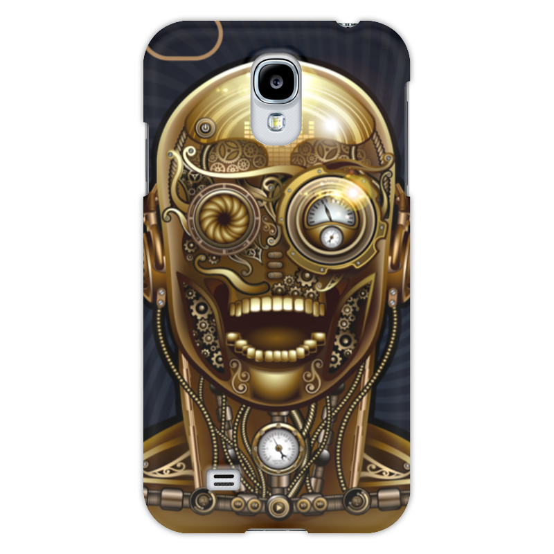 Чехол для Samsung Galaxy S4 Printio Стимпанк-голова чехол для samsung galaxy s5 printio стимпанк голова