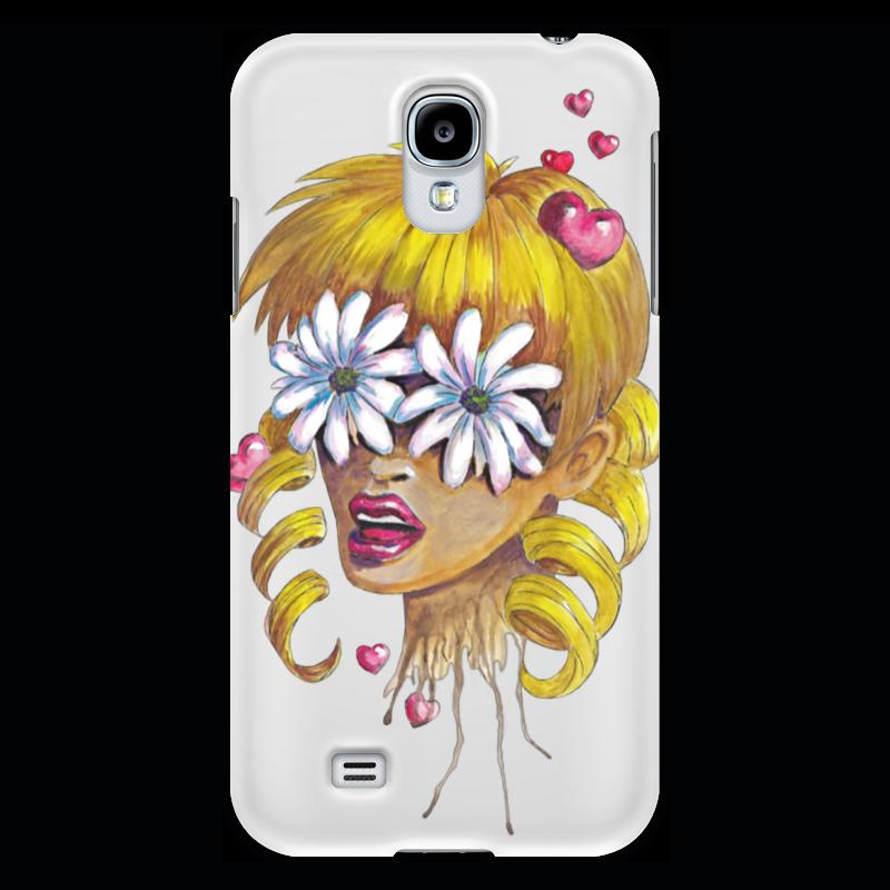 Чехол для Samsung Galaxy S4 Printio Без ума от цветов kakim bydet gibkii telefon ot samsung