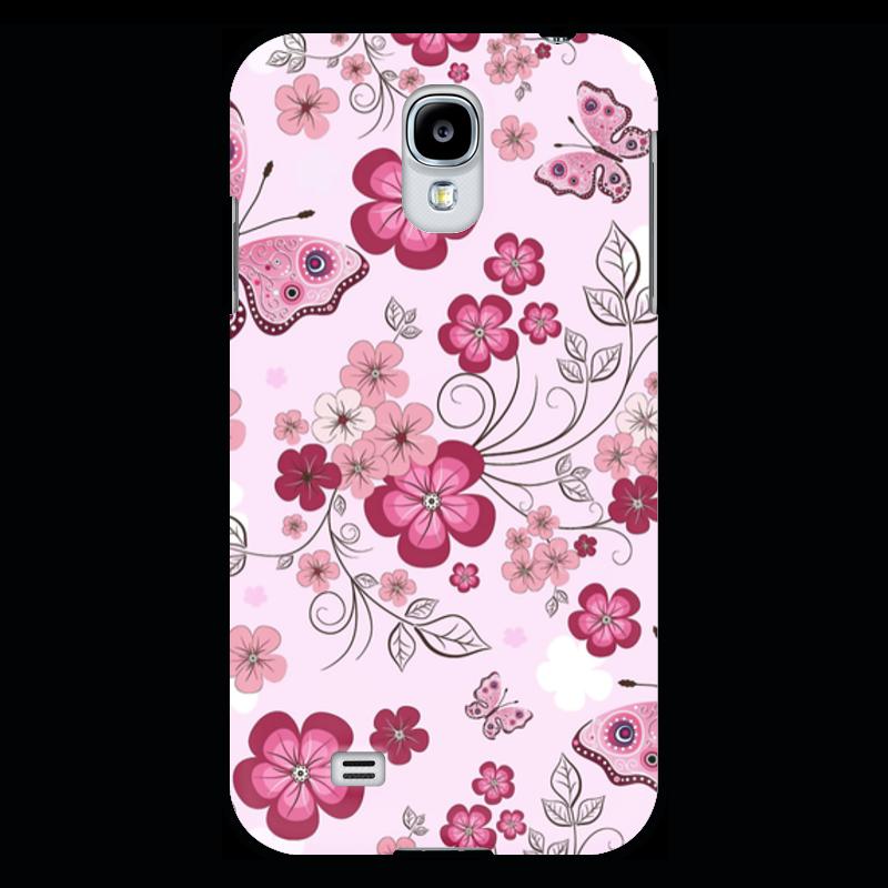 Чехол для Samsung Galaxy S4 Printio Бабочки композиция цветочная 19 см русские подарки композиция цветочная 19 см