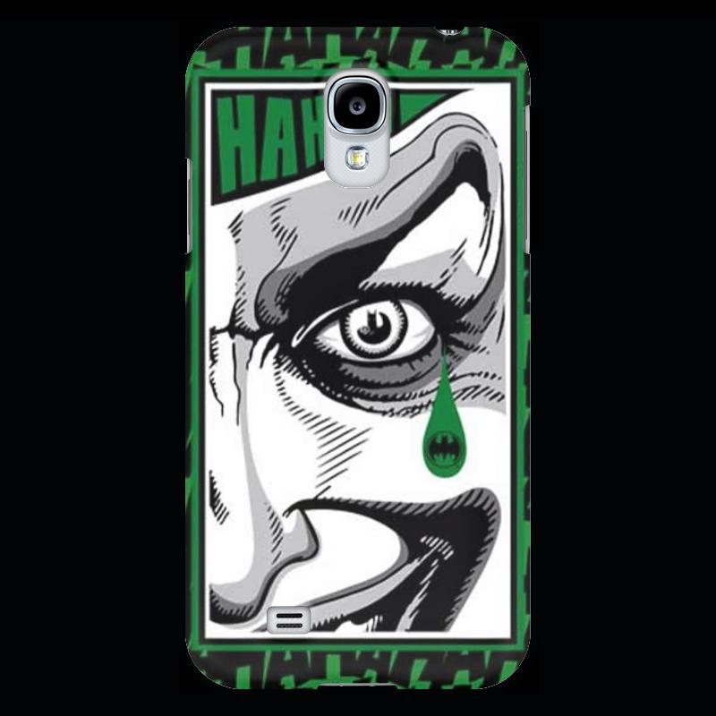 Чехол для Samsung Galaxy S4 Printio Batman teardrop - the joker лонгслив printio batman x joker