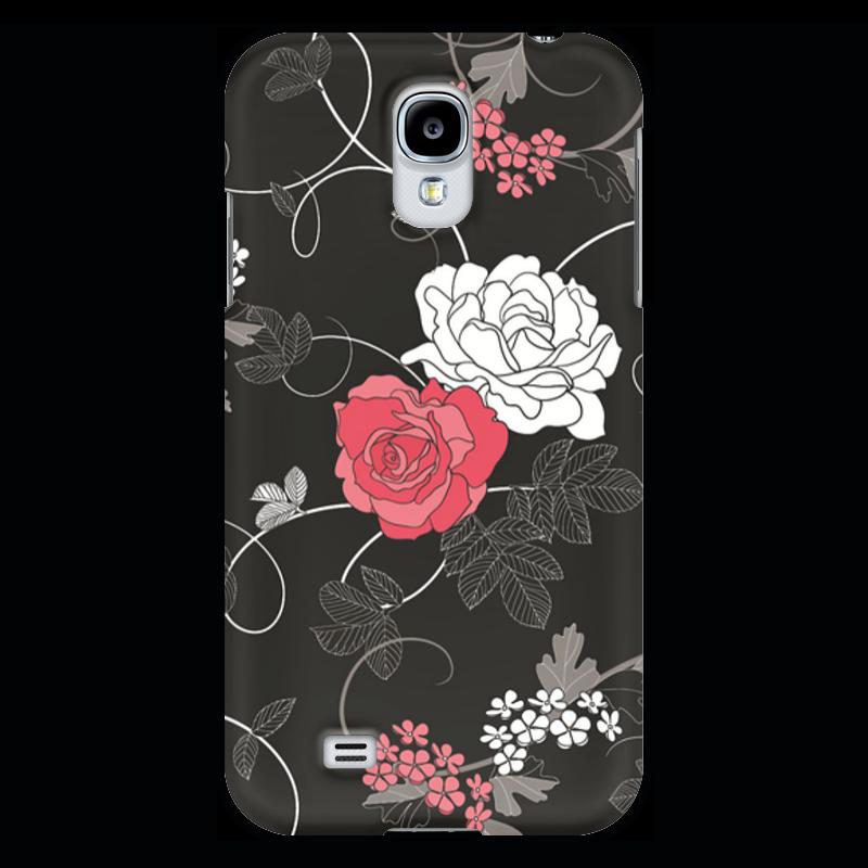 Чехол для Samsung Galaxy S4 Printio Красная и белая розы