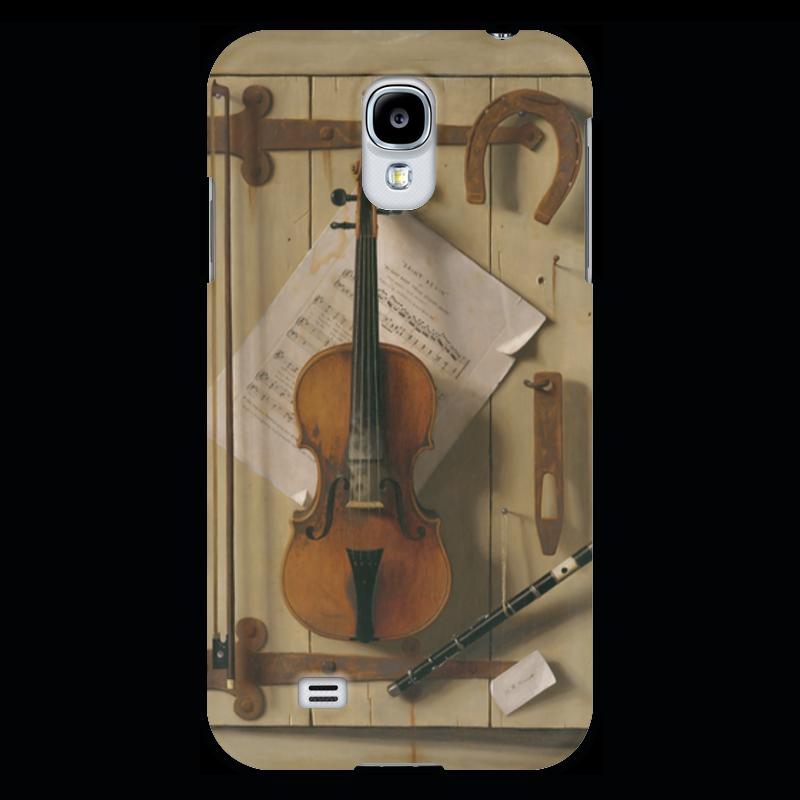 Чехол для Samsung Galaxy S4 Printio Натюрморт со скрипкой (уильям харнетт) пазл castor land 68 47см натюрморт со скрипкой и живописью 1000эл