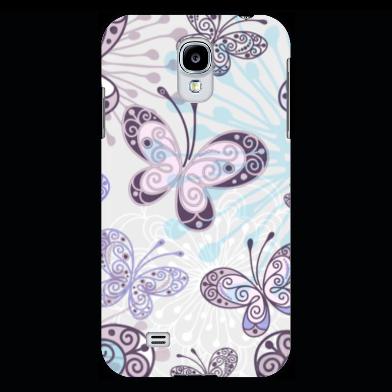 Чехол для Samsung Galaxy S4 Printio Фиолетовые бабочки прогулочные коляски gesslein s4 air