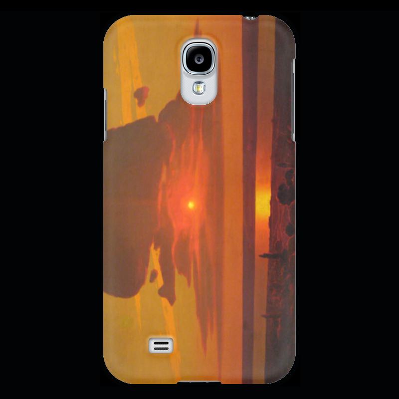 Чехол для Samsung Galaxy S4 Printio Красный закат (картина архипа куинджи) чехол для blackberry z10 printio север картина архипа куинджи