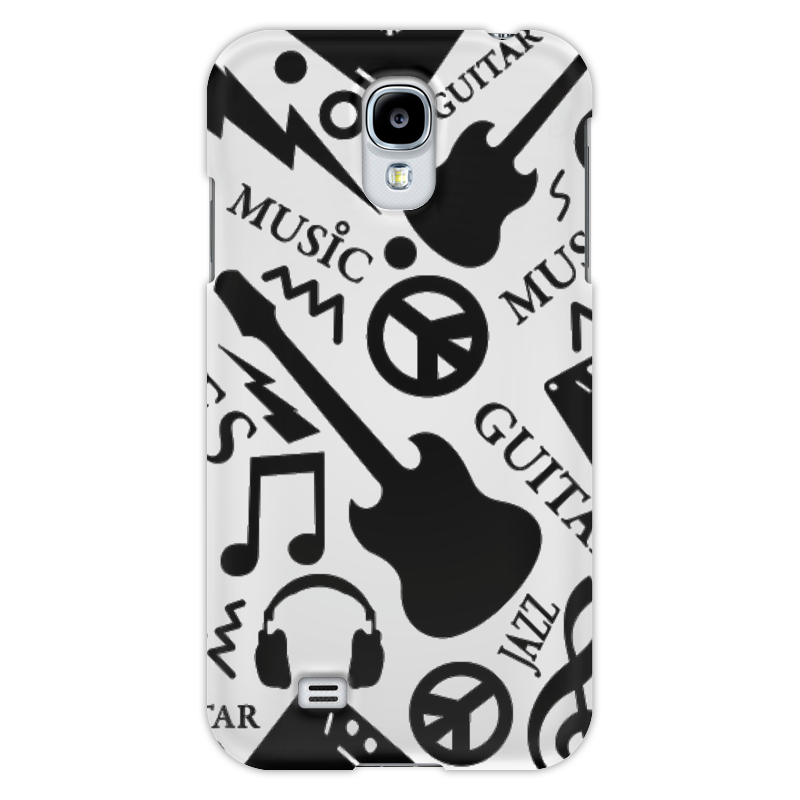 Чехол для Samsung Galaxy S4 Printio Музыка
