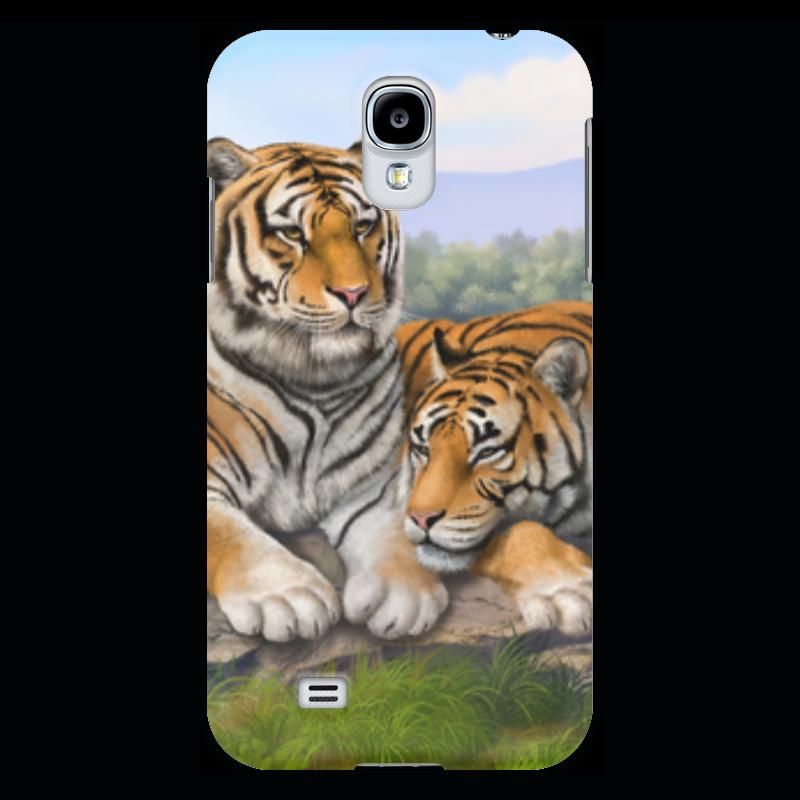 Чехол для Samsung Galaxy S4 Printio Тигры прогулочные коляски gesslein s4 air
