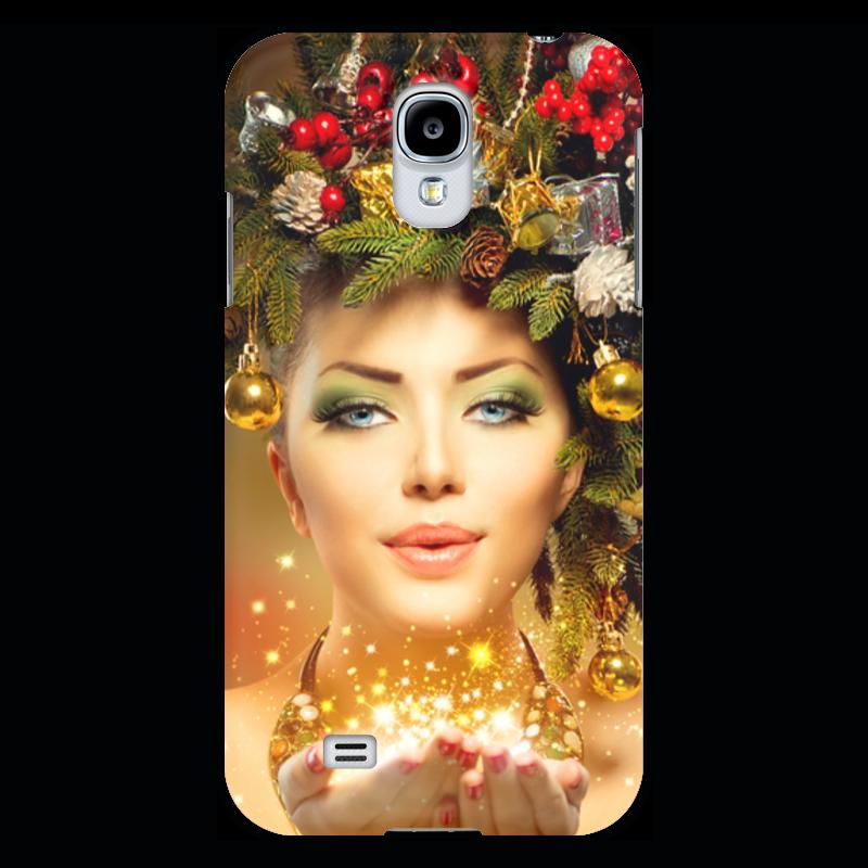Чехол для Samsung Galaxy S4 Printio Девушка
