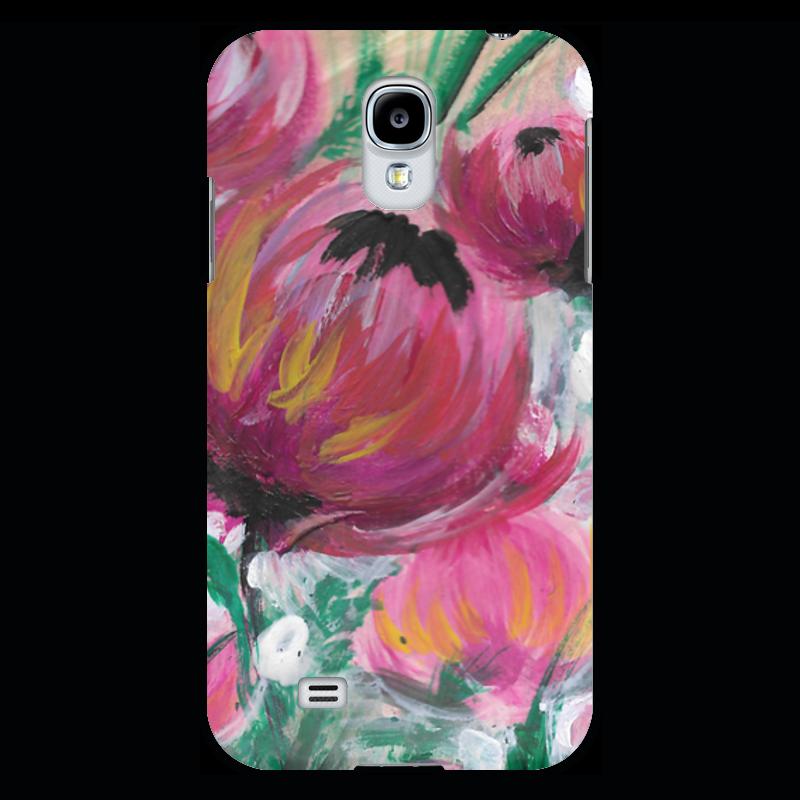 Чехол для Samsung Galaxy S4 Printio Полевые цветы st баллон для автоматического освежителя воздуха полевые цветы 39 мл