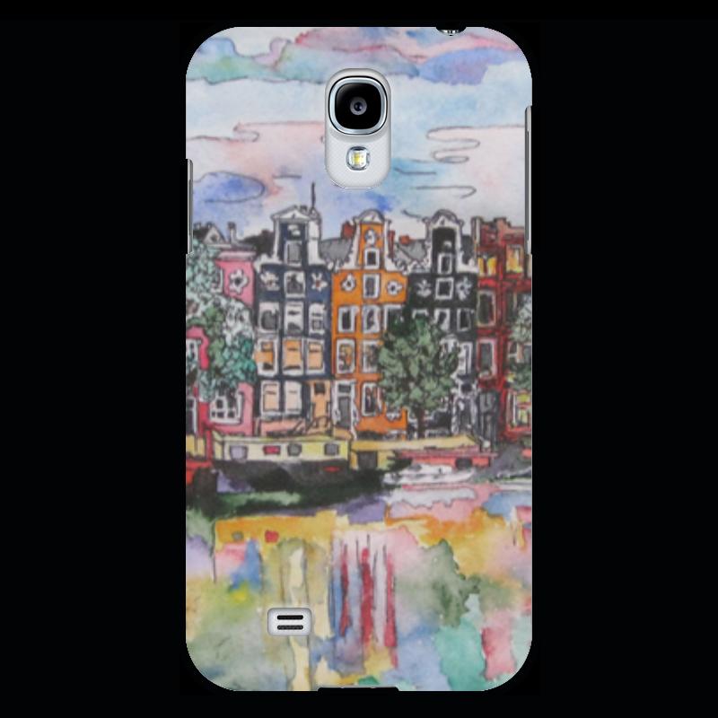 Чехол для Samsung Galaxy S4 Printio Амстердам вцспс зеленый город путевку