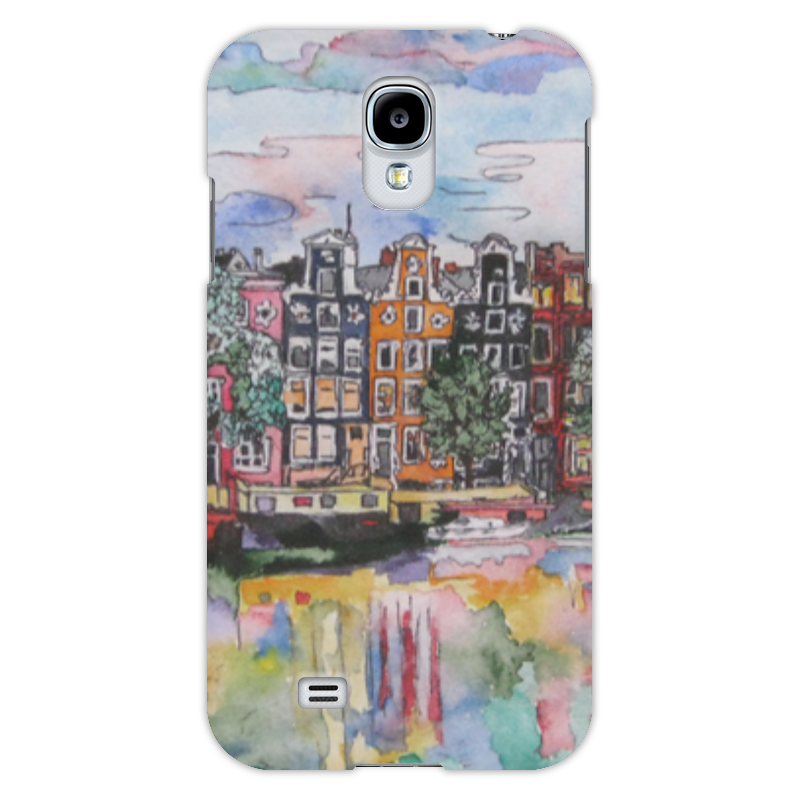 Чехол для Samsung Galaxy S4 Printio Амстердам