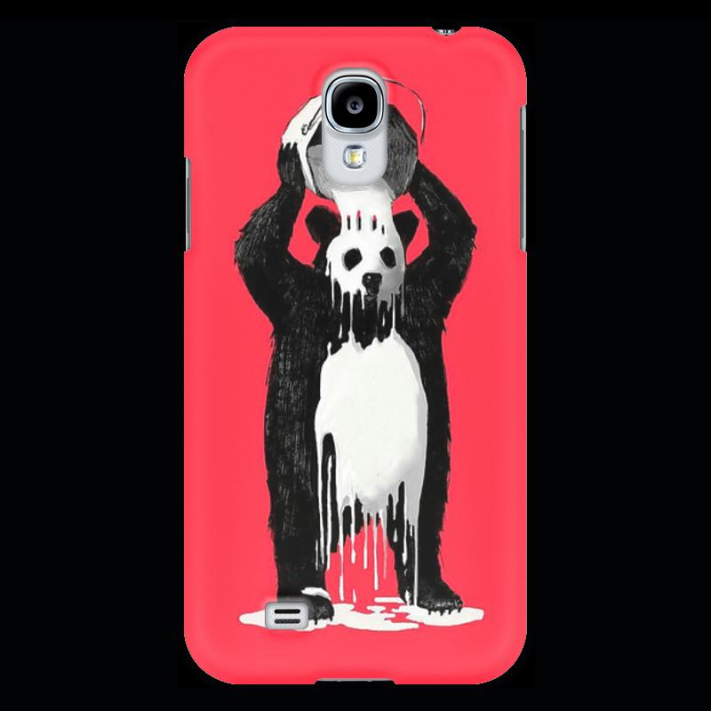 Чехол для Samsung Galaxy S4 Printio Панда в краске позиционеры для сна candide позиционер с подголовником воздухопроницаемая панда air