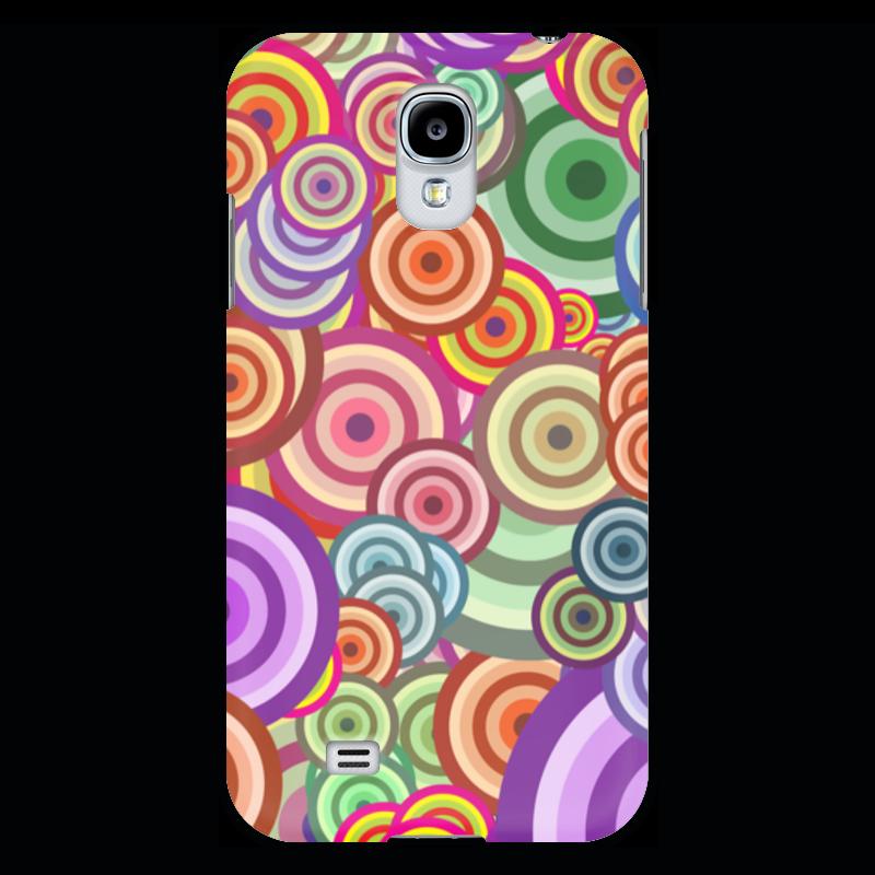 Чехол для Samsung Galaxy S4 Printio Цветные круги