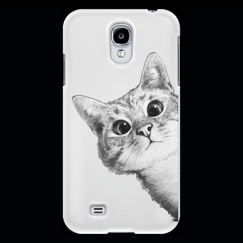 Чехол для Samsung Galaxy S4 Printio Любопытный кот чехол для samsung galaxy s4 printio a soldier from the arma 3