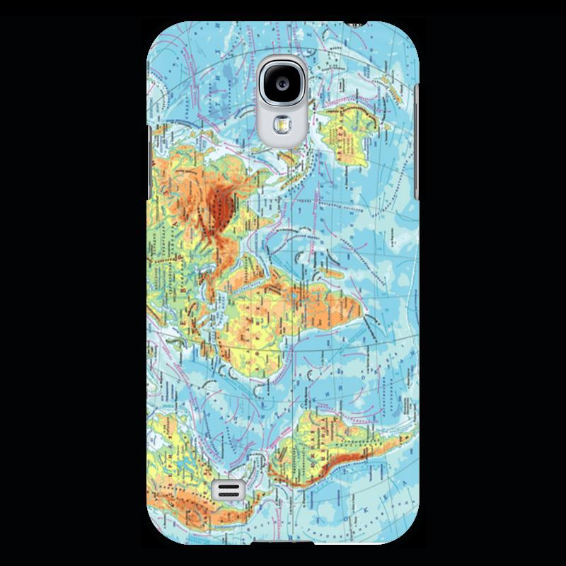 Чехол для Samsung Galaxy S4 Printio Карта мира прогулочные коляски gesslein s4 air