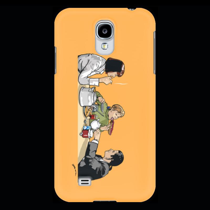 Чехол для Samsung Galaxy S4 Printio Пульпчата