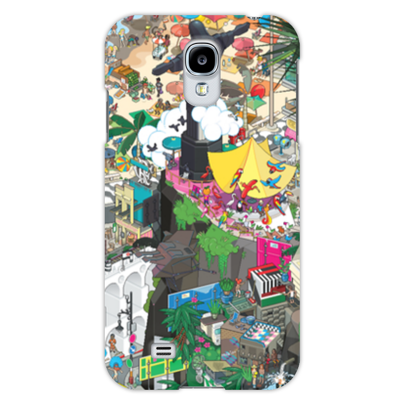 Чехол для Samsung Galaxy S4 Printio Рио-де-жанейро прогулочные коляски gesslein s4 air