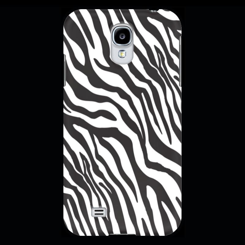 Чехол для Samsung Galaxy S4 Printio Зебра