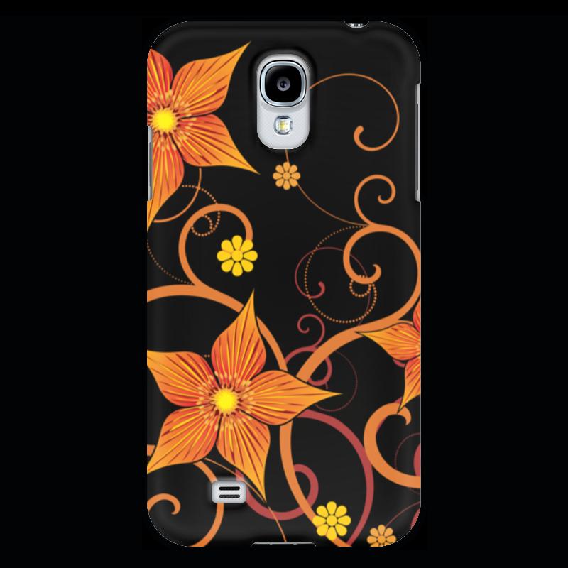 Чехол для Samsung Galaxy S4 Printio Цветочный шарф fabretti шарф