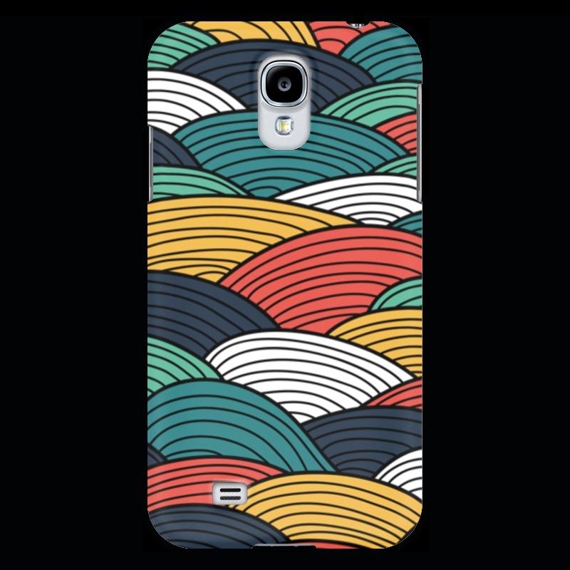 Чехол для Samsung Galaxy S4 Printio Цветные волны прогулочные коляски gesslein s4 air
