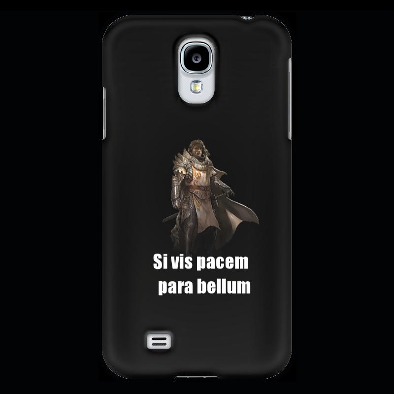 Чехол для Samsung Galaxy S4 Printio Хочешь мира - готовься к войне чехол для samsung galaxy note 2 printio хочешь мира готовься к войне