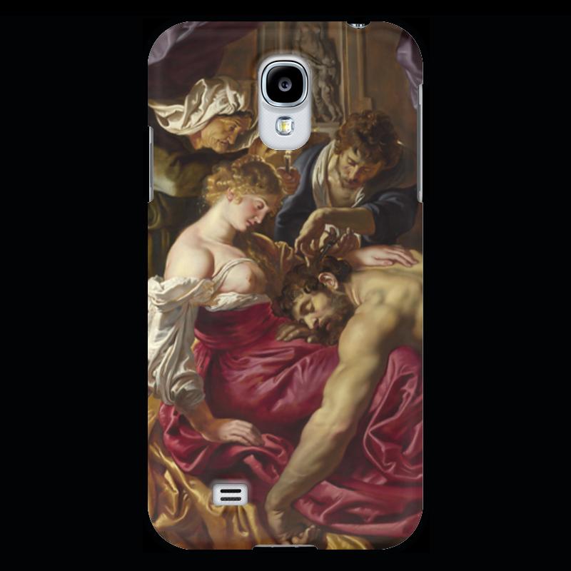Чехол для Samsung Galaxy S4 Printio Самсон и далила (картина питера пауля рубенса) чехол для samsung galaxy s4 printio даниил в яме со львами картина рубенса