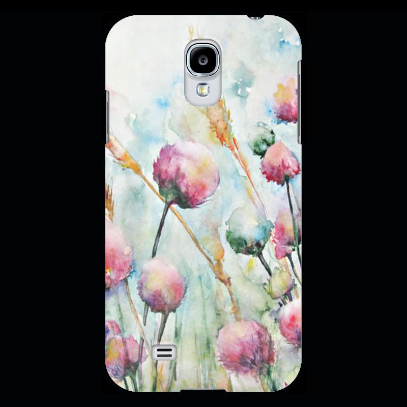 Чехол для Samsung Galaxy S4 Printio Цветы. утро рисуем цветы акварелью