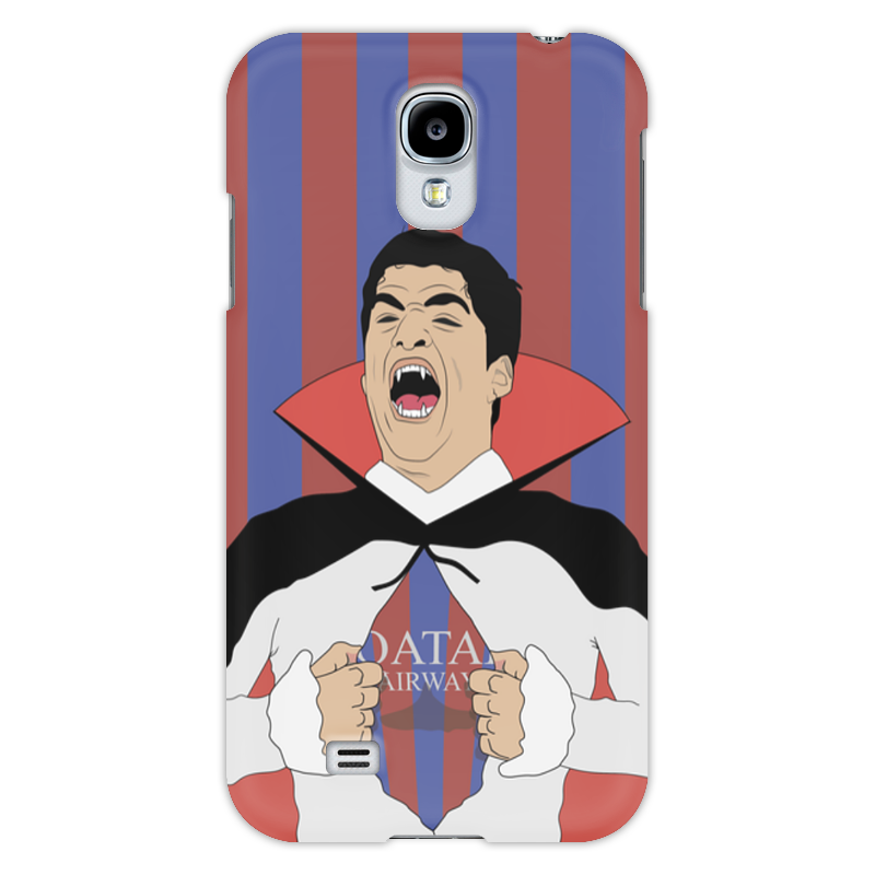 Чехол для Samsung Galaxy S4 Printio Суарес