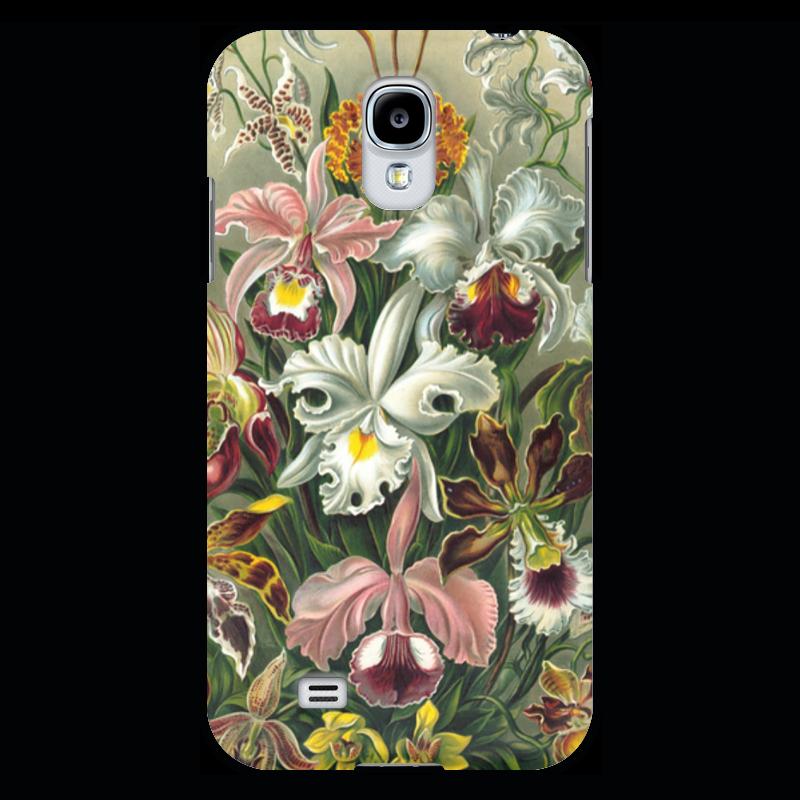 Чехол для Samsung Galaxy S4 Printio Орхидеи (orchideae, ernst haeckel) самые дешевые орхидеи в москве