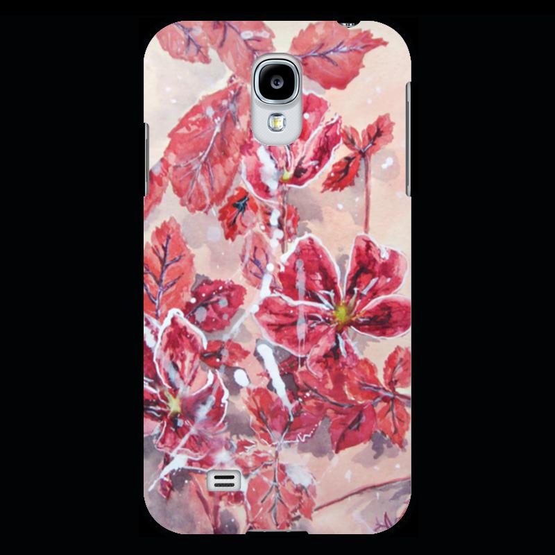 Чехол для Samsung Galaxy S4 Printio Розовый шиповник